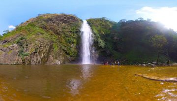 The Wli waterfalls